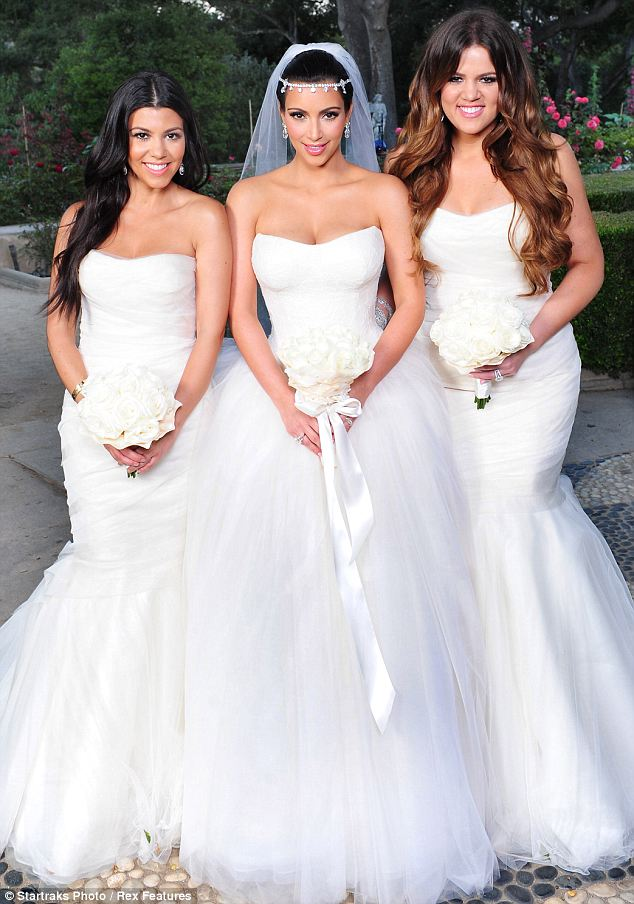 Vera Wang Bridal Gown Creation For Kim Kardashian | The Business Haven